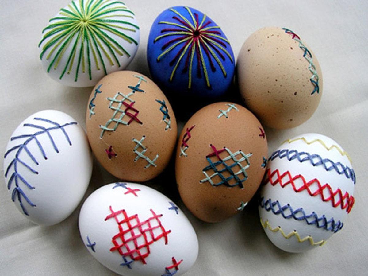 Как раскрасить яйца своими руками к пасхе из