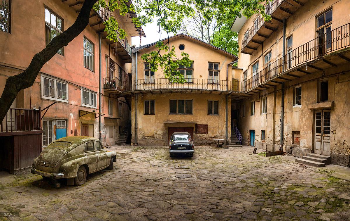Львівський дворик © Stanislav Savin