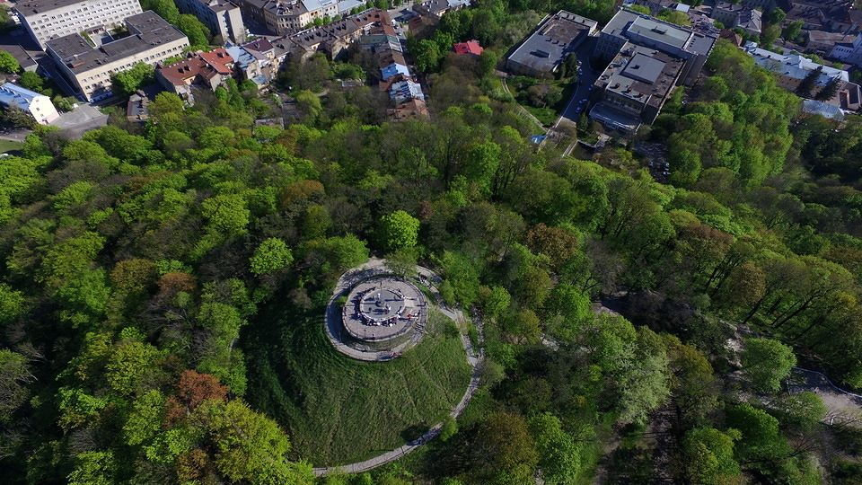 Високий Замок © Aerozyomka Lviv