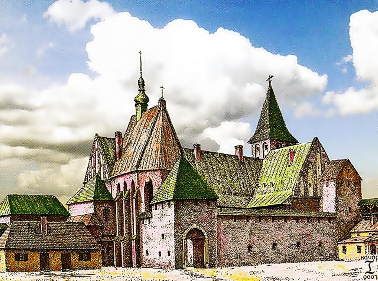 Низький замок. Костел св. Катерини Олександрійської (реконструкція І. Качора)
