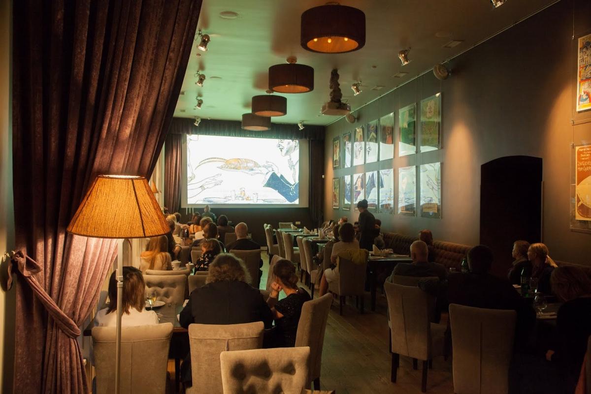 Ресторан імпровізацій Грушевський cinema jazz