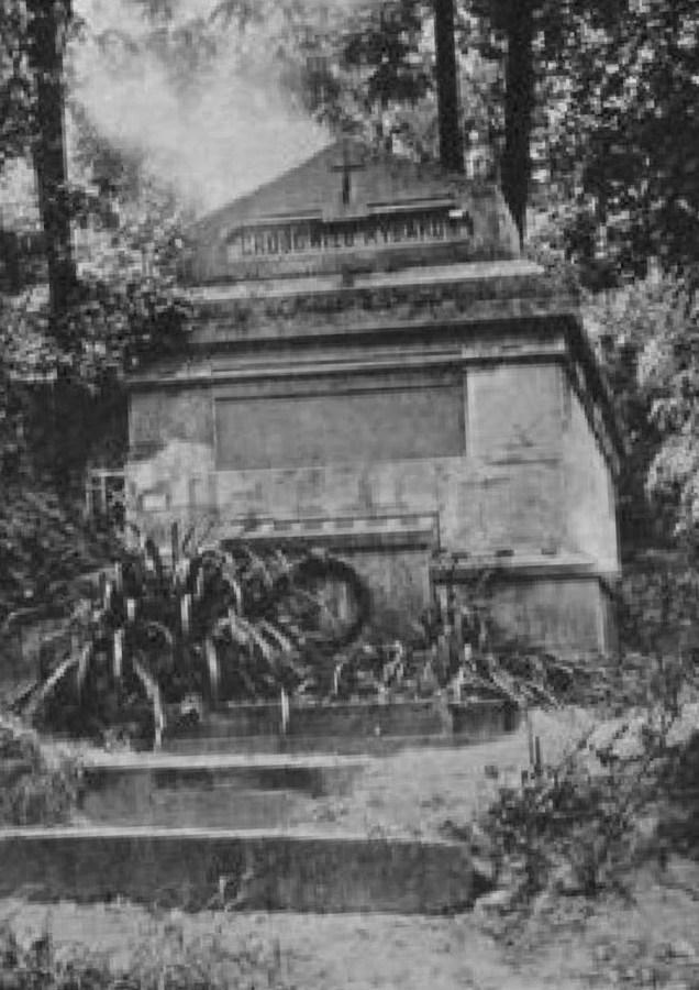 Гробівець Павла та Марії з Гіжинських Рибаків на Стрийському кладовищі. Фото до 1911 року © NAC