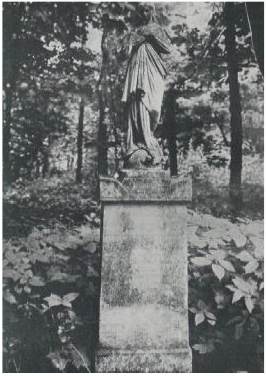 Надгробок на могилі Адольфа Германа на Стрийському кладовищі. Фото до 1911 року © NAC