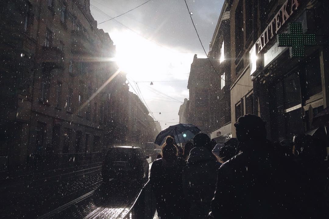 Дощ © Yasya Yakovenko
