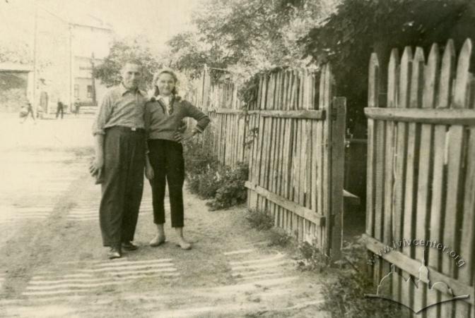 Вулиця Діаманда (Підзамче). Автор: Невідомий. 1956-1957 рр. © lvivcenter.org