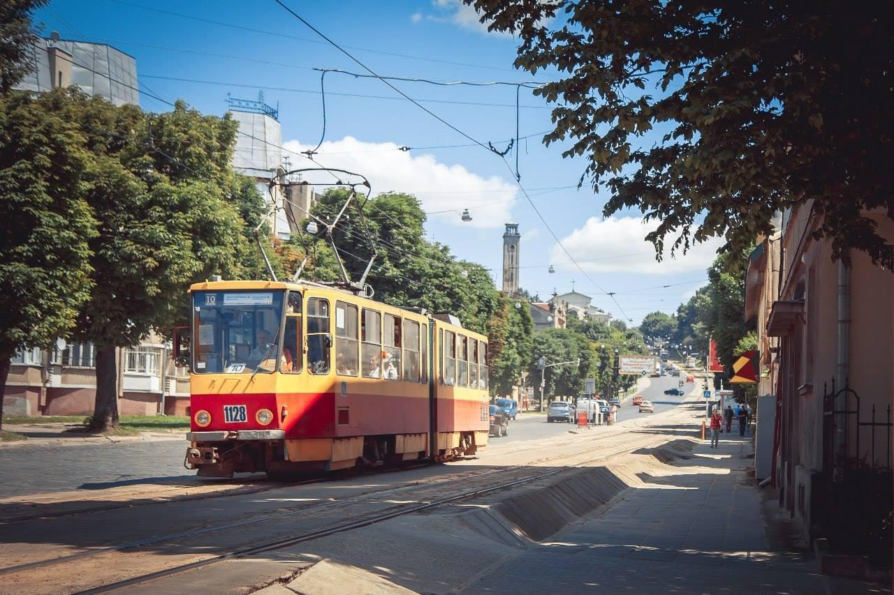 Трамвай Tatra KT4SU © vk.com