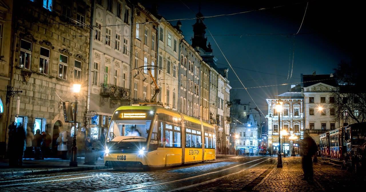 Трамвай Електрон © vk.com