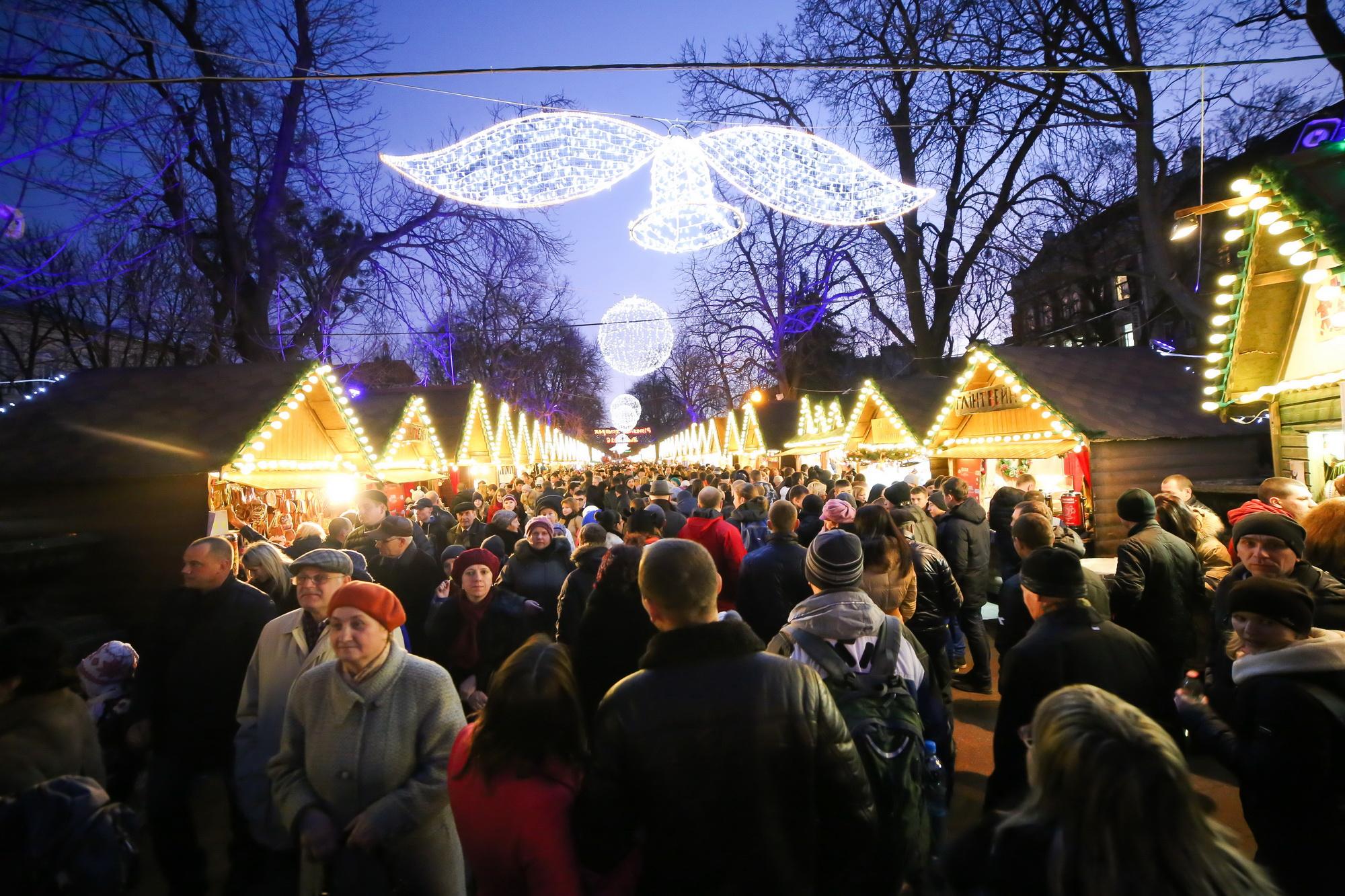 Різдвяний ярмарок © lviv.travel