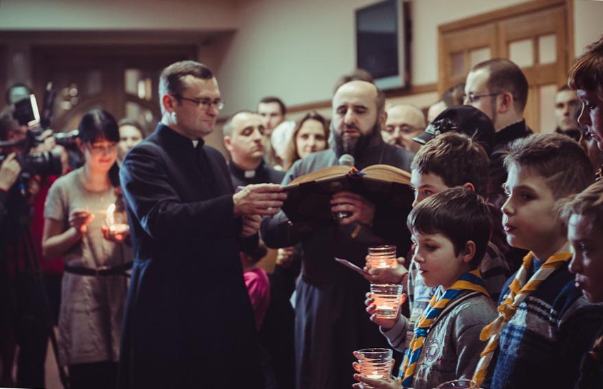Святкування Різдва у Львові в парафії бл. Йоана Павла ІІ © rym.lviv.ua