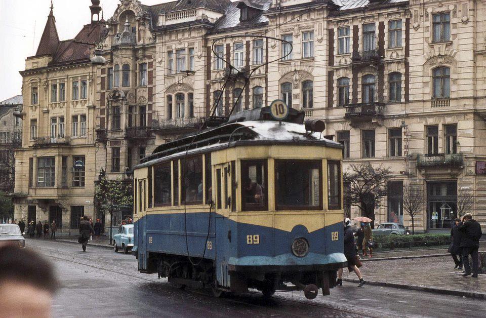 Трамвай Sanok SW1 № 89 Травень1970 р. Ханс © Олерманс