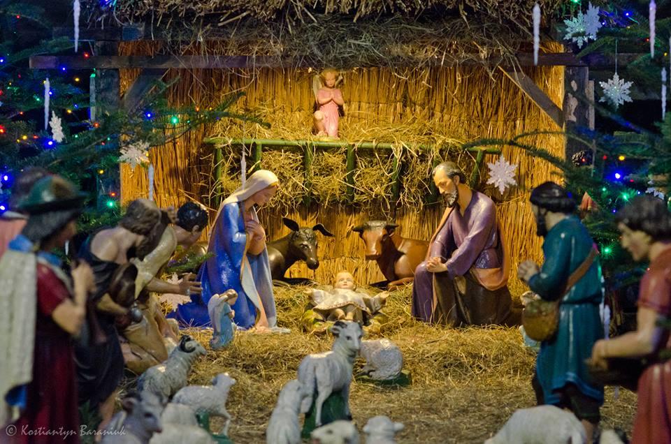 Різдвяна шопка у Катедральному Соборі РКЦ © velychlviv.com