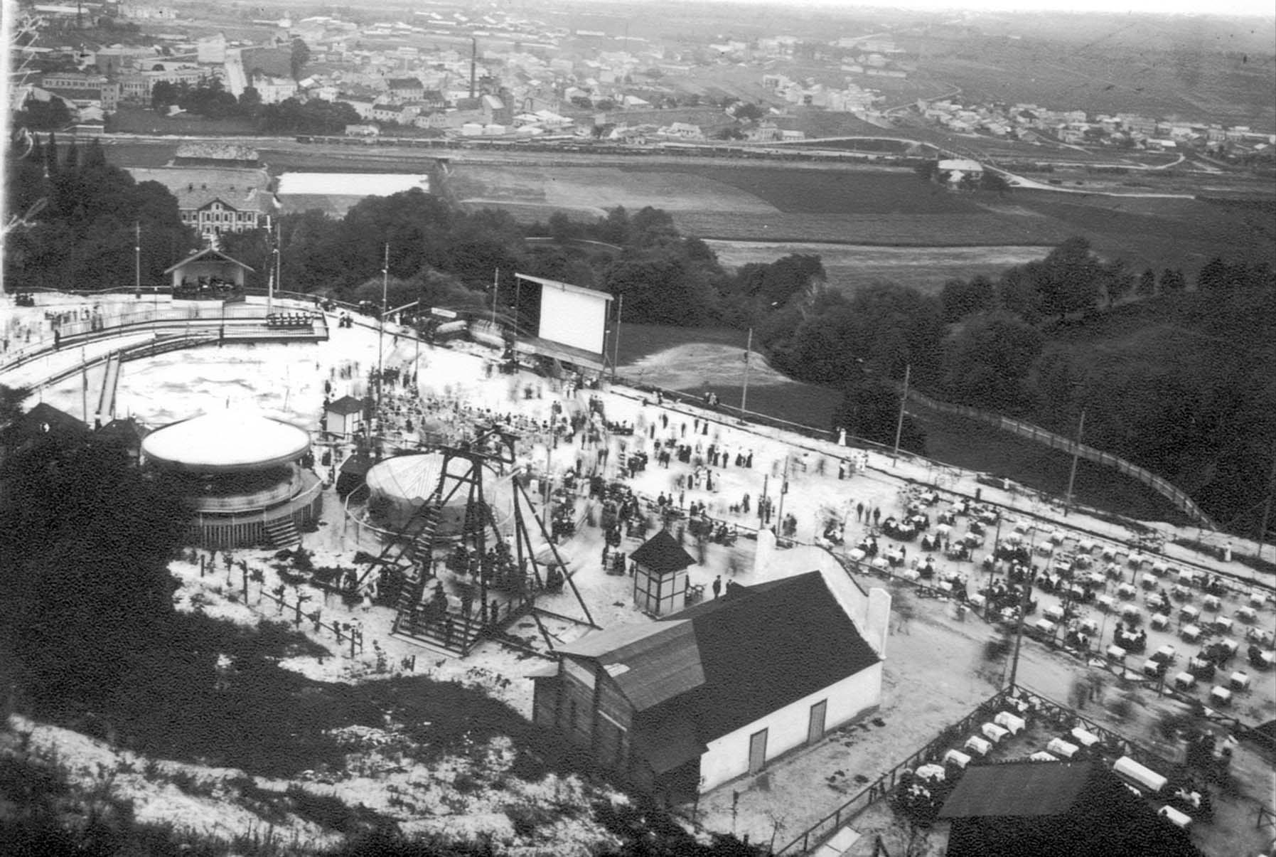 Луна-парк на Кайзервальді. Фото 1908-1914 рр.