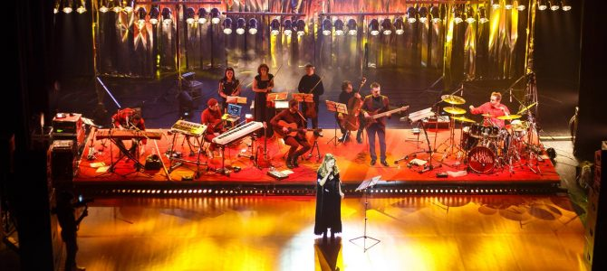 Емоційно: Під час концерту у Львівській Опері Тіна Кароль розплакалася