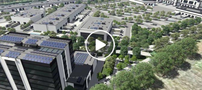 Поблизу Львова буде індустріальний парк із логістичним центром (візуалізація)