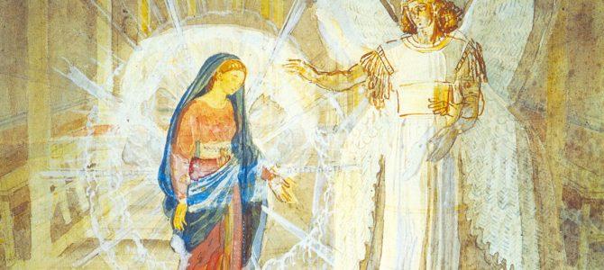 7 квітня – Благовіщення Пресвятої Богородиці