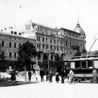 Історія львівського трамваю у часи Австро-Угорської імперії