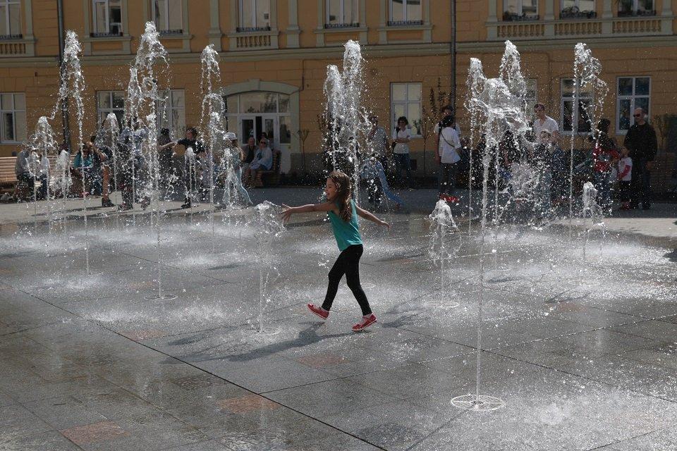 Красиво: У Львові відкрили оновлену площу Митну (фото)