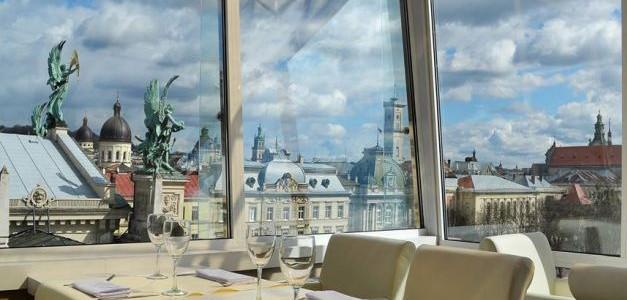 ТОП-8 ресторанів Львова, звідки відкривається чудова панорама на місто