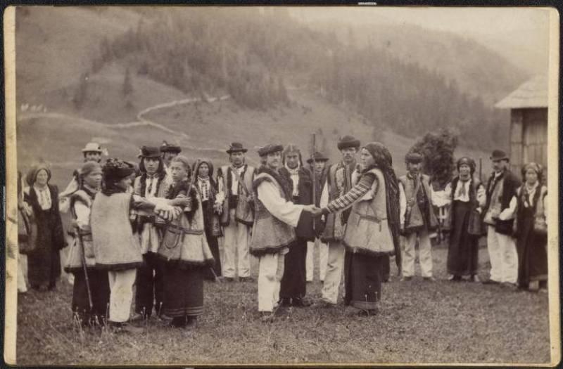 """Фотографія із 24-томного видання """"Австро-Угорщина в текcтах та малюнках"""", 1898"""