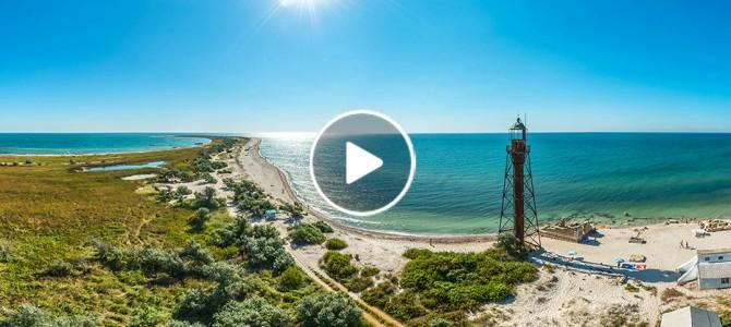 Неймовірно: в Україні є свої Мальдіви – найбільший незаселений острів Європи з Ейфелевою вежею