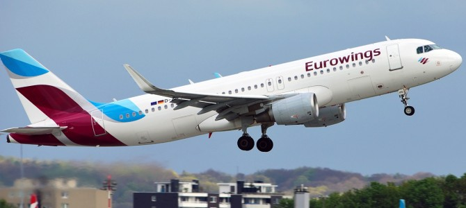 Лоукост Eurowings планує відкрити рейси з Києва!