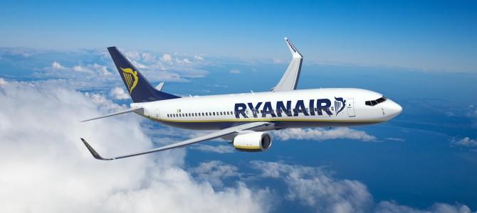 Ryanair розпродає квитки зі Львова уБерлін,Краків,МеммінгентаВроцлав із суттєвою знижкою