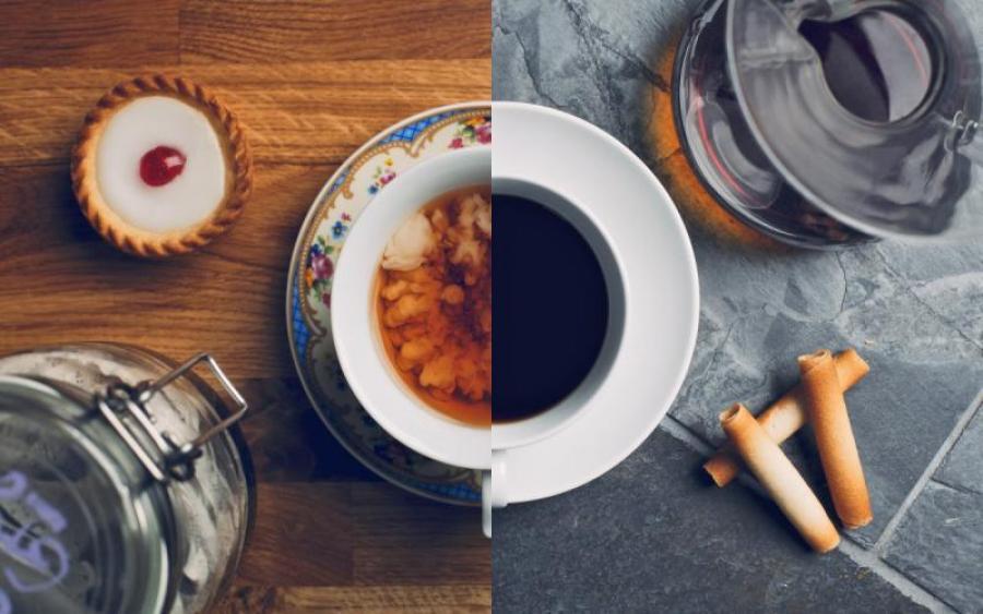 Заварить кофе и чай