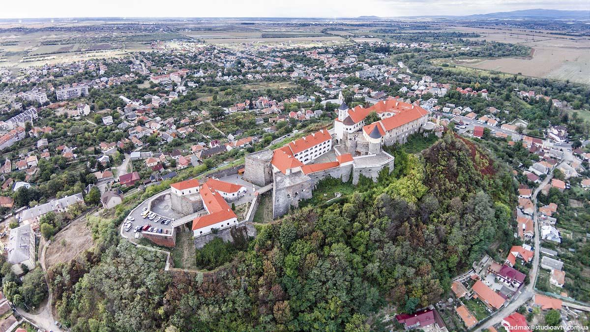 Замок Паланок у Мукачево © Максим Рітус