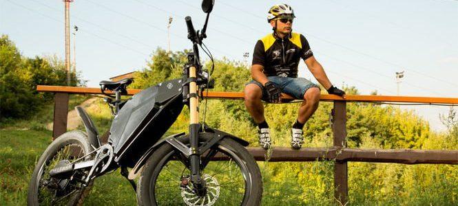 Український електробайк встановив світовий рекорд, проїхавши 367 км на одному заряді