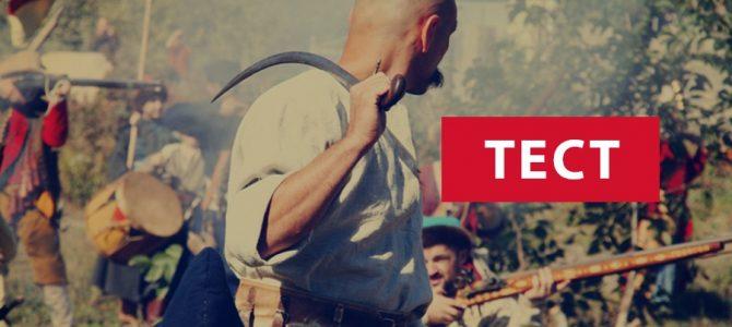 Тест для справжніх козаків: Чи взяли б вас на Січ? (тест)