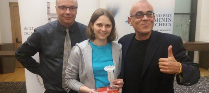 Львів'янка Анна Музичук стала чемпіонкою Європи зі швидких шахів
