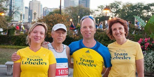 76-річний киянин виграв Чиказький марафон