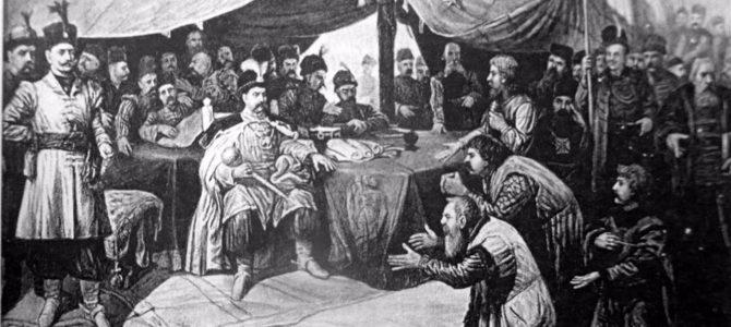 1700 козаків на площі Ринок, які не загрожували Львову