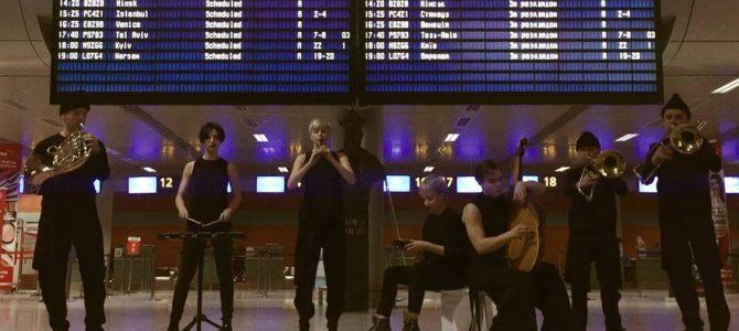 З Любов'ю, ONUKA: Щедрик у виконанні гурту пролунав у Львівському аеропорту (відео)