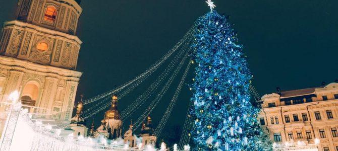 У Києві урочисто запалили головну ялинку