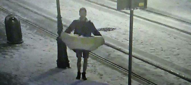 Неочікувано: На площі Ринок із шопки вкрали колиску з Ісусом (фото)