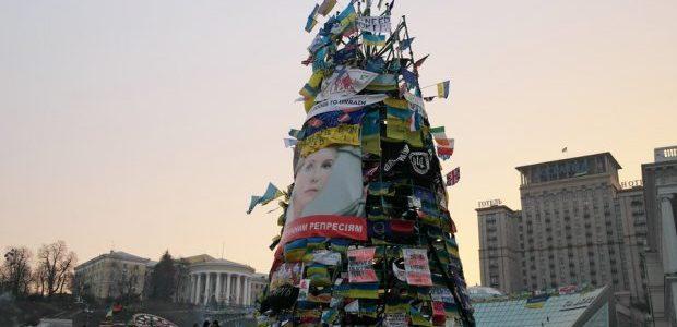 Як виглядала головна ялинка України в різні роки незалежності (фото)