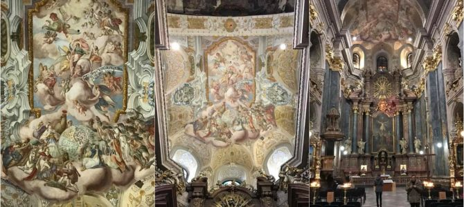 Сьогодні урочисте відкриття відреставрованих фресок храму св. Петра і Павла