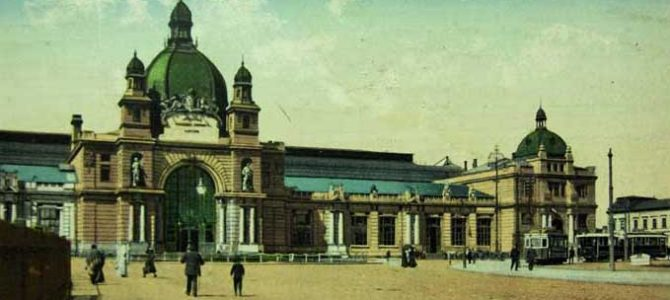 Львівський вокзал на старих фотографіях