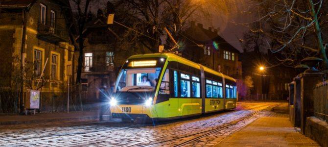 Як курсуватимуть трамваї у новорічну ніч