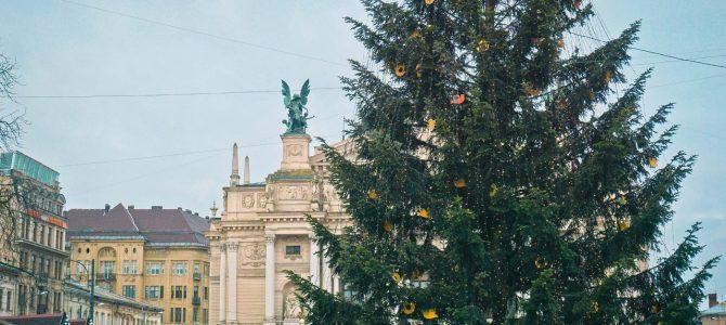 Львів в передчутті Нового року: атмосферні фото