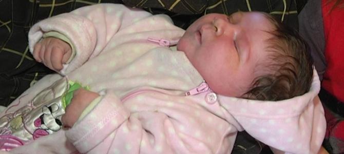 У Запоріжжі народився хлопчик вагою понад 7 кілограмів (фото)