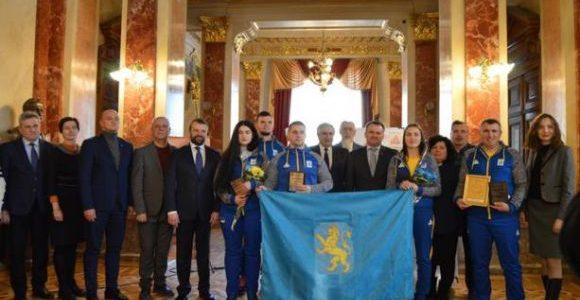 У Львові відбулися проводи учасників Олімпіади