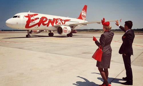 Ernest Airlines проводить розпродаж квитків зі Львова до Італії
