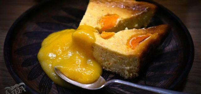 Мандариновий сирник з мандариновим курдом