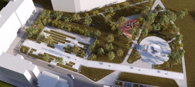 Дизайнери зі Львова спроектували парк імені Кузьми Скрябіна. Візуалізація
