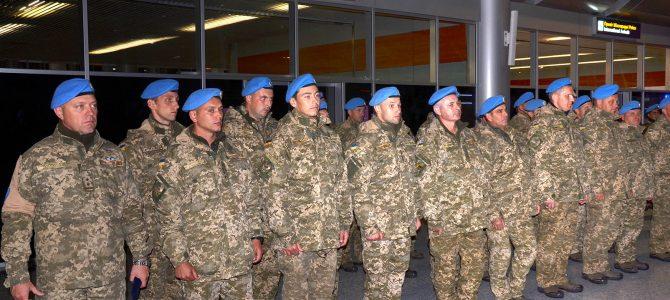Після 14-річної місії в Ліберії до Львова повернулися українські миротворці