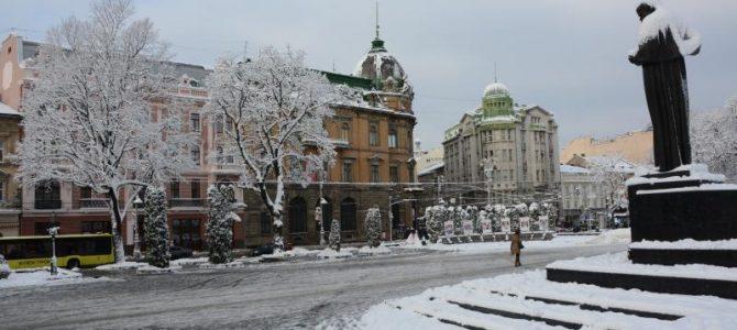 От вхурделило:  У Львові випало 64% від місячної норми опадів