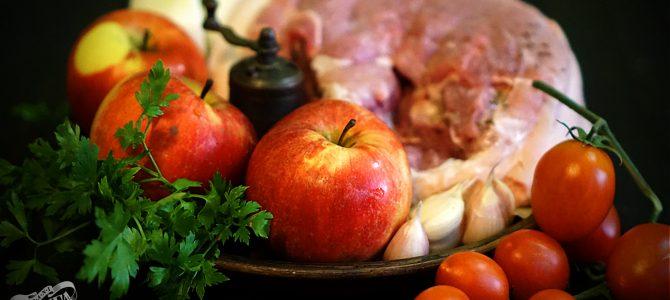 Свинина, печена з яблуками від Пані Стефи