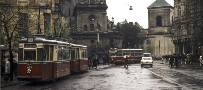Львів на старих фотографіях. Трамвайні історії (і не тільки)